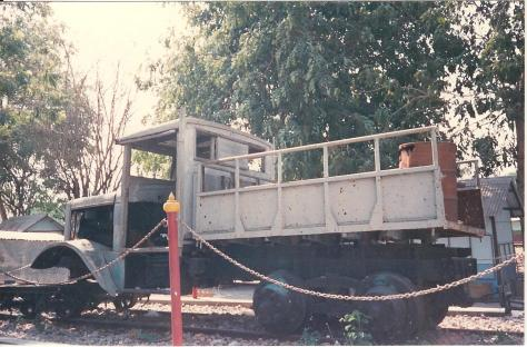 vehicle used for building death railway 1988 001