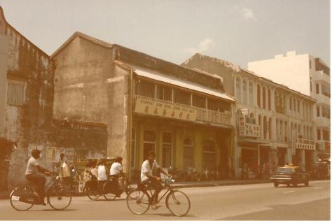 Georgetown Street scene 1985 001