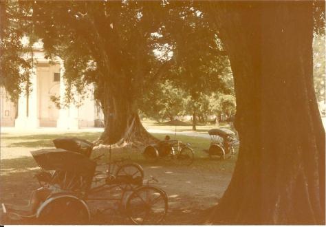 Rickshaw-wallahs resting in sun Georgetown 1985 001