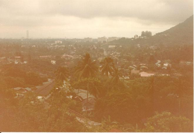 View from Penang Hill over Georgetown 001