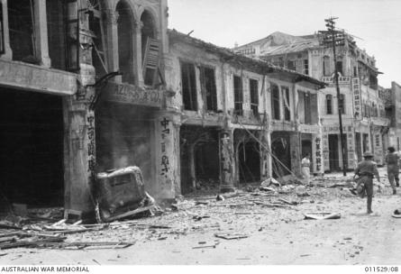 Bomb Damage Singapore