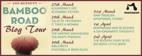 bamboo road trilogy blogtour poster